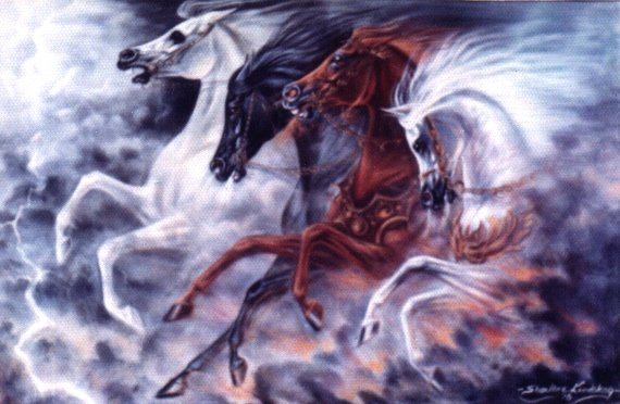 The Night The Horses Ran A Poem By Dr George Pararas