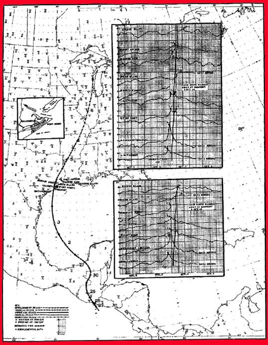 Hurricane Of Oct 3 4 1949 At Freeport And Galveston Texas Dr