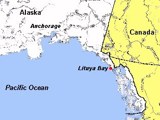 Mega Tsunami Lituya Bay The Mega Tsunami Of 9 July 1958 In Lituya